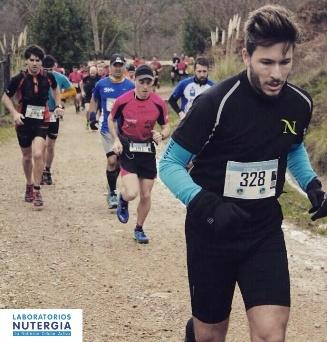 Carrera de montaña en Gijón, Asturias.