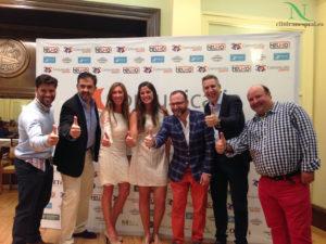 Ángela Pumariega presenta en Gijón su candidatura a los Juegos Olímpicos de Río 2016.
